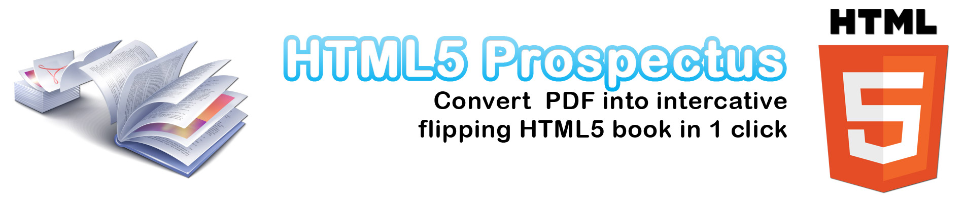 Flipping interactive HTML5 book